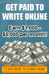 earn money writing job ad